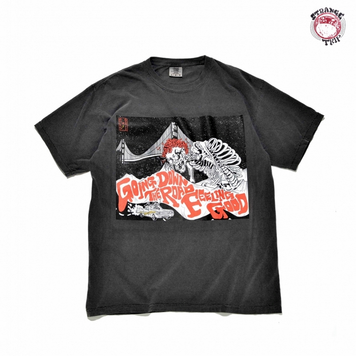 「ST2001-06」SANFRANCISCO TRIPPER TEE:BLACK【返品交換不可】