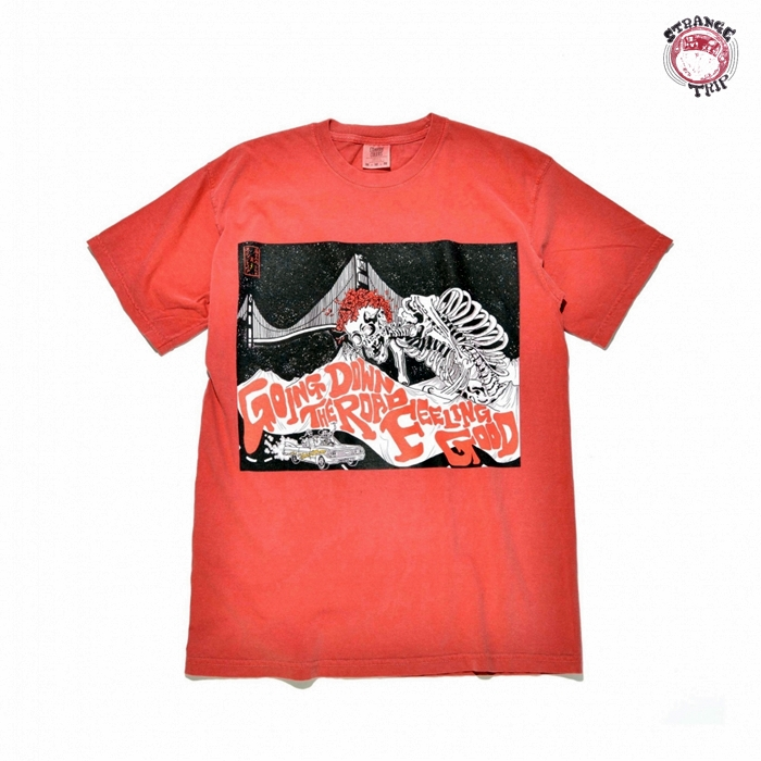 「ST2001-06」SANFRANCISCO TRIPPER TEE:RED【返品交換不可】