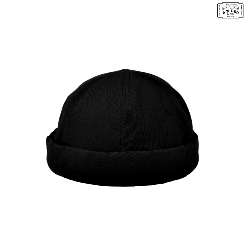 WASH FISHERMAN CAP:BLACK
