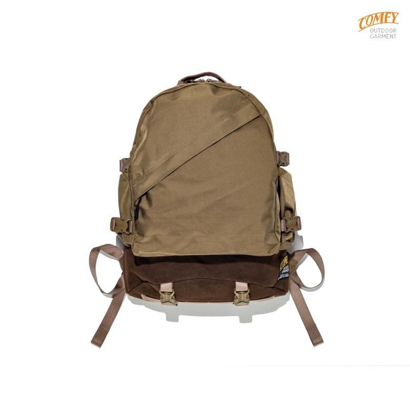 WEEKENDERZ BACKPACK:C.BROWN