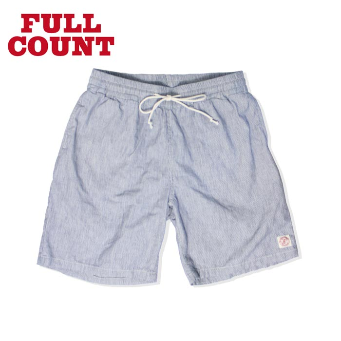 FULLCOUNT(フルカウント) No.1339 INDIGO HICKORY STRIPE EASY SHORTS