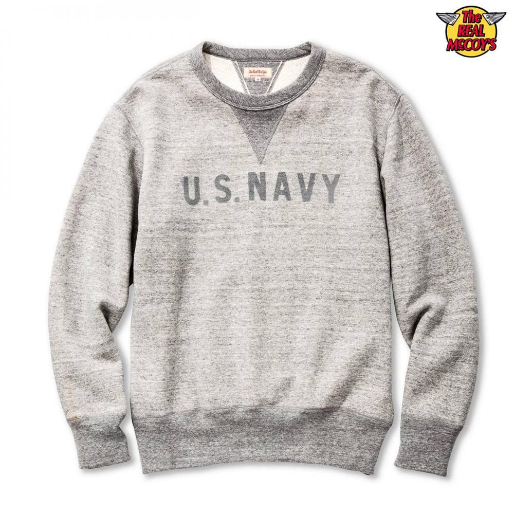 【2019秋冬商品】MILITARY PRINT SWEATSHIRT / U.S. NAVY REFLECTOR