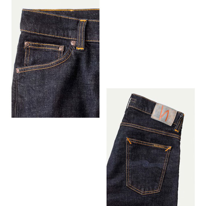 nudie jeans TIGHT TERRY RINSE TWILL (50161-1035)