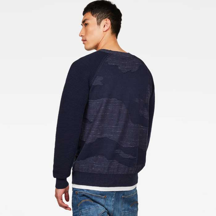 G-STAR RAW Dessert Camo Knit (D14839-8403)