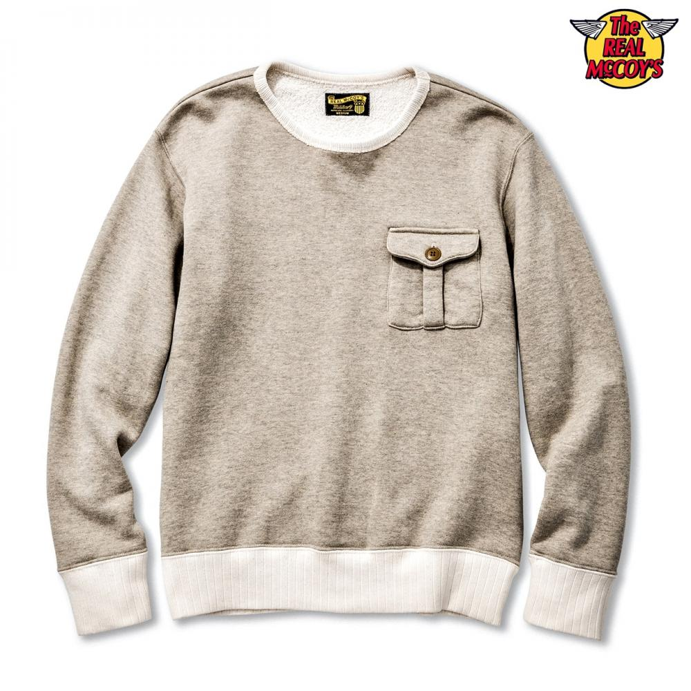 【2018秋冬商品】MILITARY POCKET SWEATSHIRT