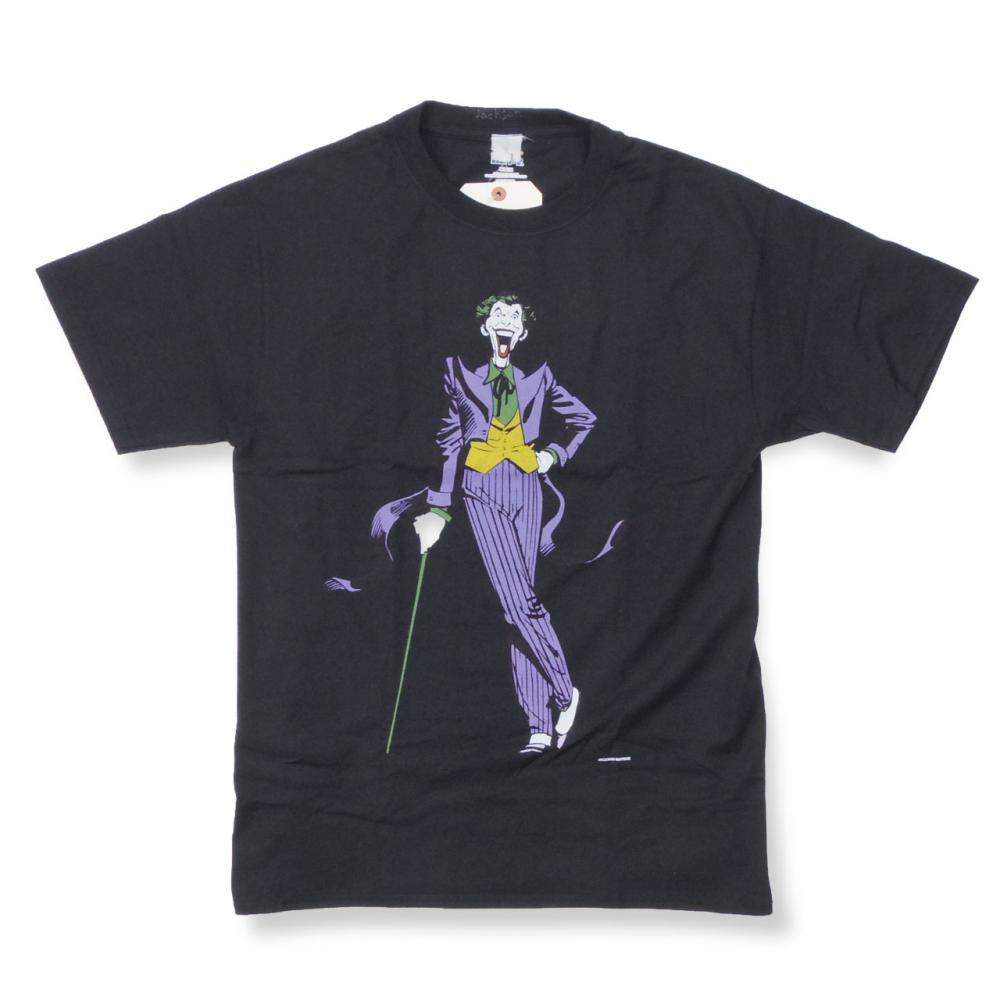 THE Joker Tee (JM18AW061) DC コラボ BLACK