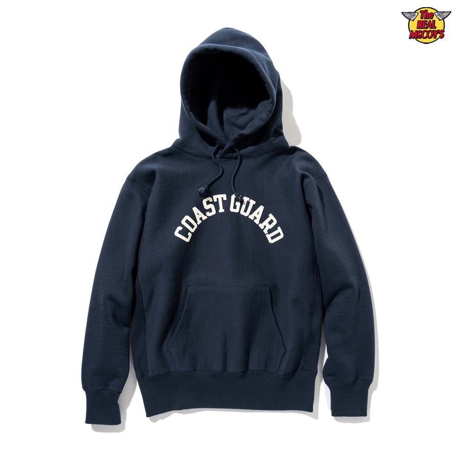 【2020年秋冬予約商品】HOODED SWEATSHIRT / COAST GUARD