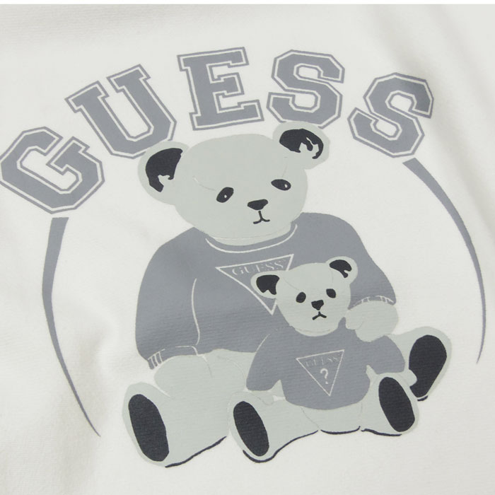 GUESS BEAR MONOTONE SWEATER (Ivory)
