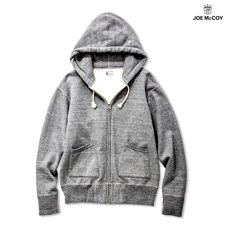【2018秋冬商品】12 oz. FULL ZIP PARKA:M.GRAY