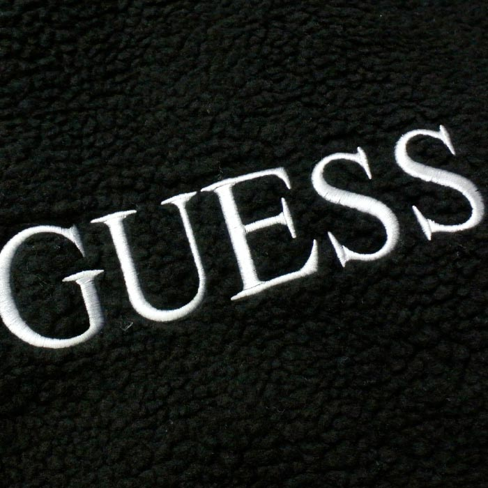 GUESS GREEN LABEL BOA GUESS HOODIE (GRFW19-031) BLACK