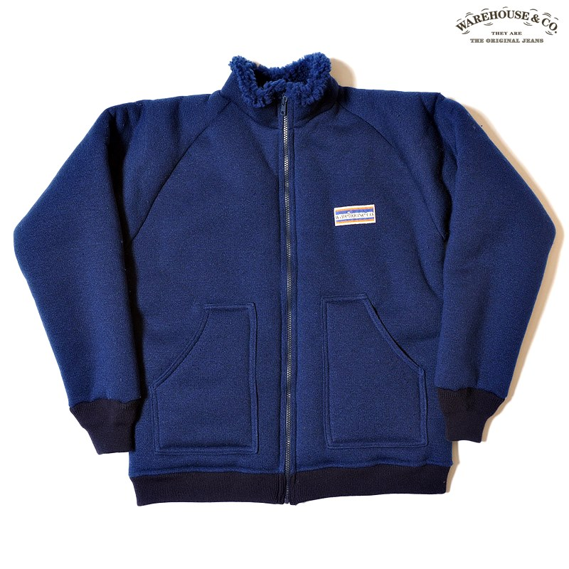 Lot 2130 CLASSIC PILE JACKET A TYPE:NAVY